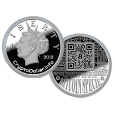1. BITCOIN SPECIE PROOF - Individually Numbered  (001-100)